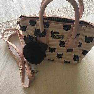 Luv Betsey Cat Crossbody purse
